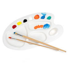 Colour Mixing Paint Palette Large  medium