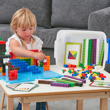 Linking Cubes Construction Set  medium