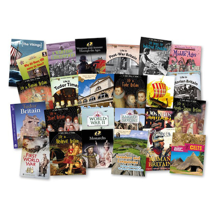 Roman Britain to Present Day Books 25pk  large