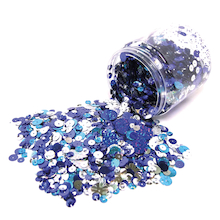 Sequins Assorted 100g  medium