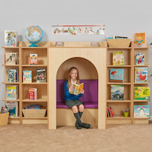 Reading Nook Offer With Purple Seat Pads  medium