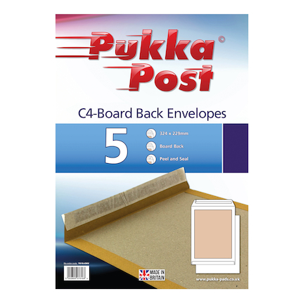 Pukka Board Back Envelopes  large