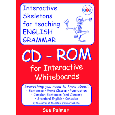 Grammar Skeleton CD\-ROM by Sue Palmer  large