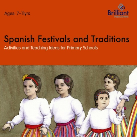Spanish Festivals and Traditions Book  large