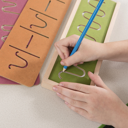 Pre\-Writing Motor Skills Boards  large