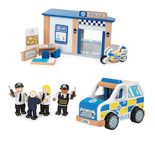Small World Police Station Set  medium