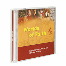 Worlds of Faith CD ROM KS2  medium