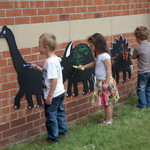 Dinosaur Chalkboards 3pk  medium