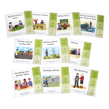 Building Friendships Social Situation Games 10pk  large