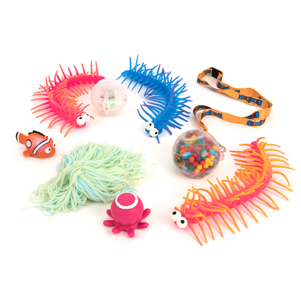 Stretchy \x26 Squidgy Sensory Fidget Kit 8pk  large