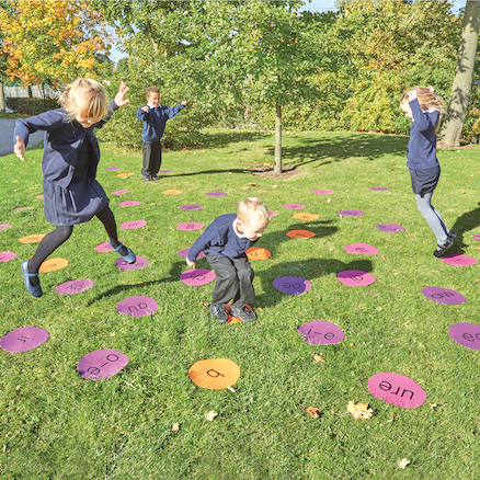 Outdoor Phonics Mats  large