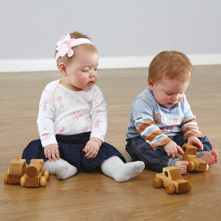 Mini Wooden Vehicles 5pk  large