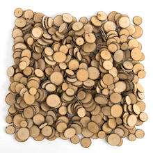 Wooden Tree Flake Discs 500pk  medium