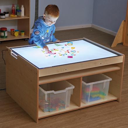 Buy Lightbox Table With Light Panel Storage Tts
