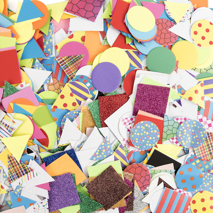 Mixed Pack of Paper Mosaics  large