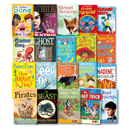 4u2read Reluctant Readers Book Pack 20pk  large