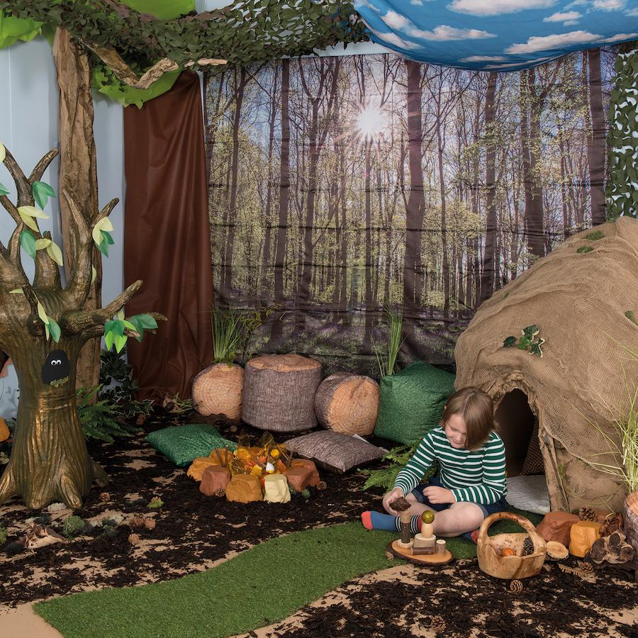 Buy Immersive Environments Backdrops Woodland Tts