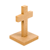 Plain Wooden Crosses 10pk  small
