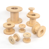 Assorted Outdoor Wooden Reels 8pk  small