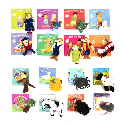 Take Home Rhyme Book and Toy Set Offer 16pk  large