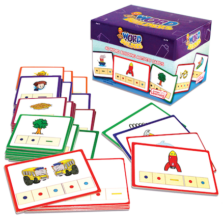 Tri Blocks© Word Building Activity Cards   large