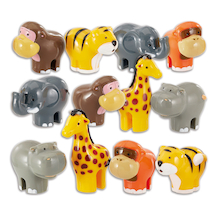 Small World WOW Wild Animal Set 12pcs  medium