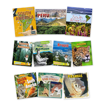 South America Book Pack 10pk  medium