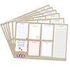 TTS Week Planner Notepads 19.5 x 27.5cm 6pk  small