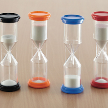 Midi Desk Top Sand Timers 4pk  medium