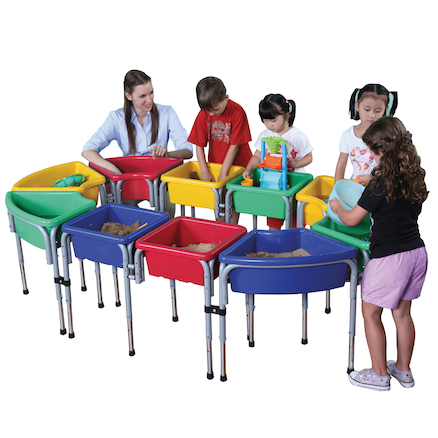 Play Tubs and Lids 10pk  large