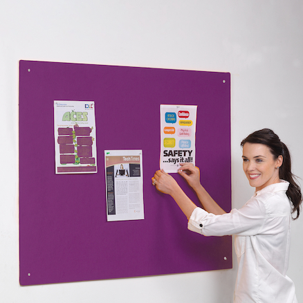 Accents Unframed Noticeboard  large