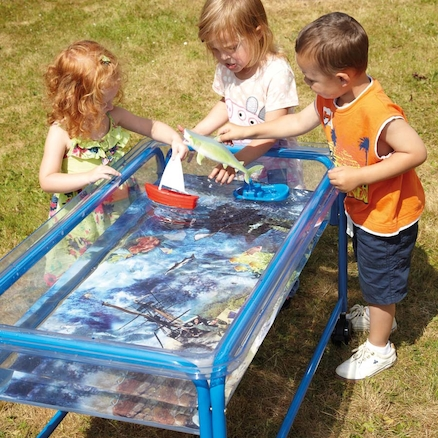 Ocean Floor Mat for Sand and Water Tables  large