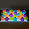 Lightbox Acrylic Sorting Domes  small