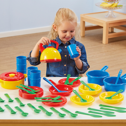 Role Play Dinner Set 57pcs  large