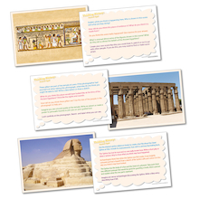 Thinking History: Ancient Egypt Picture Activity Cards  medium