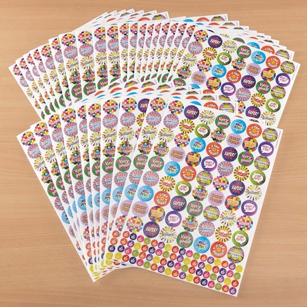 Praise and Thumbs Up Stickers 3930pk  large