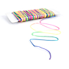 Rainbow Coloured Satin Beading Cord 91m  small