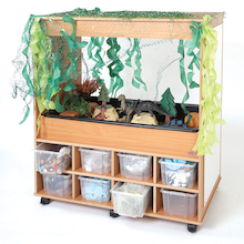 Small World Messy Play Storage Creative Centre  medium