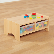 Wooden Beech Toddler Table  medium