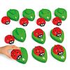 Ladybug Number Match Set  small