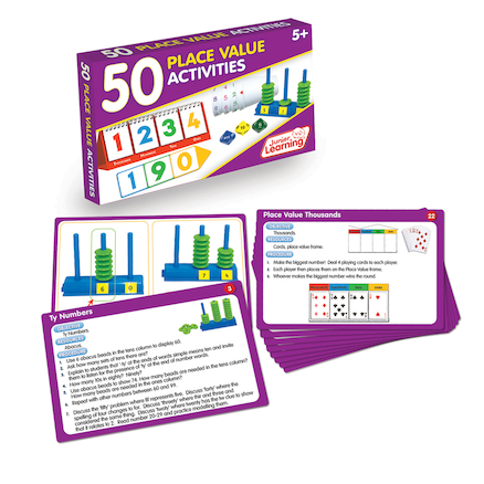50 Place Value Activities  large