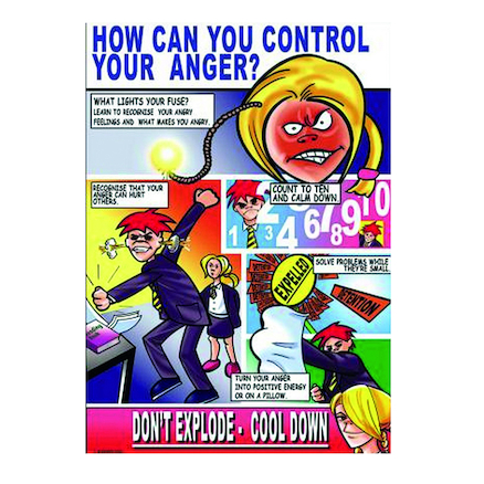 KS3 Control Your Anger Posters 3pk  large