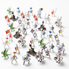 Small World Knights and Dragons Set 48pcs  small