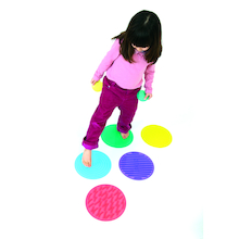 Sillishapes Sensory Circle Set 10pk  medium