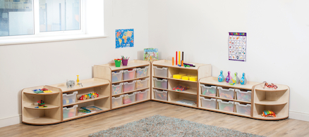 Solway Early Years Storage Set  large