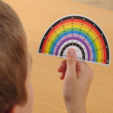 Multiplication Rainbow Card Pupil Size 35pk  medium