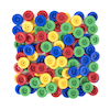 Assorted Plastic Wheels 100pk  small