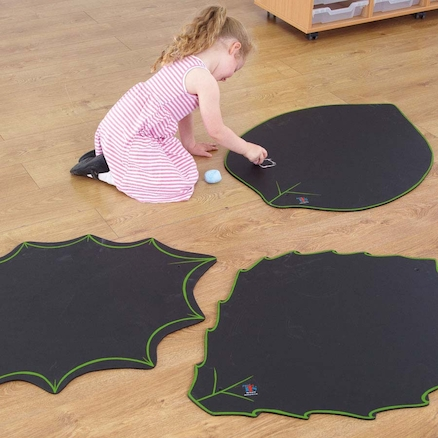 Leaf Chalkboards L90 x W65cm 3pk  large