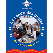 La Ronde Des Petits French Activity Book and CD  medium