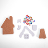 Gingerbread House Cards 30pk  small